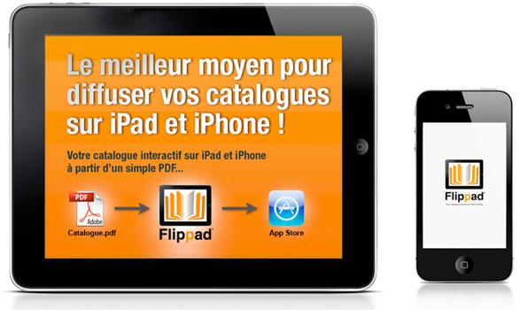 catalogue interactif sur ipad et iphone partir d 39 un pdf flippad digitalisation catalogues. Black Bedroom Furniture Sets. Home Design Ideas