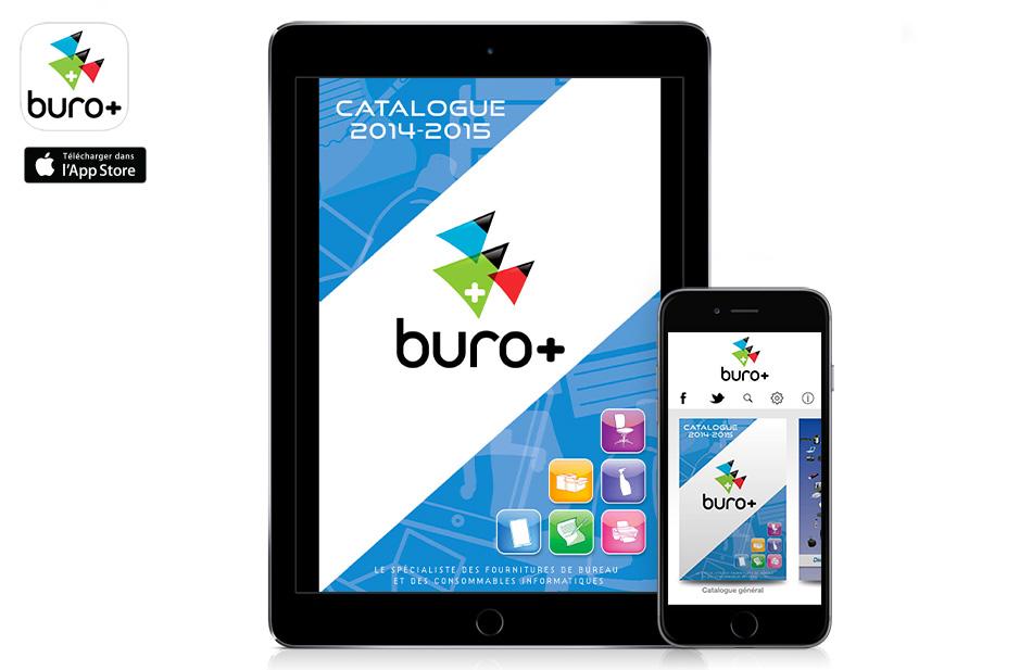 Digitalisation du catalogue buro sur ipad et iphone for Buro en ligne