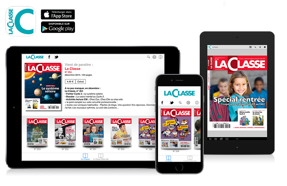 application-kiosque-magazine-la-Classe-sur-ipad-iphone-android
