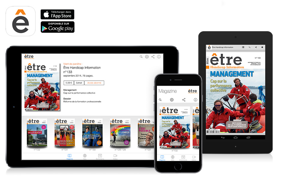 application-kiosque-magazine-magazine-Etre-Handicap-Information-sur-ipad-iphone-android