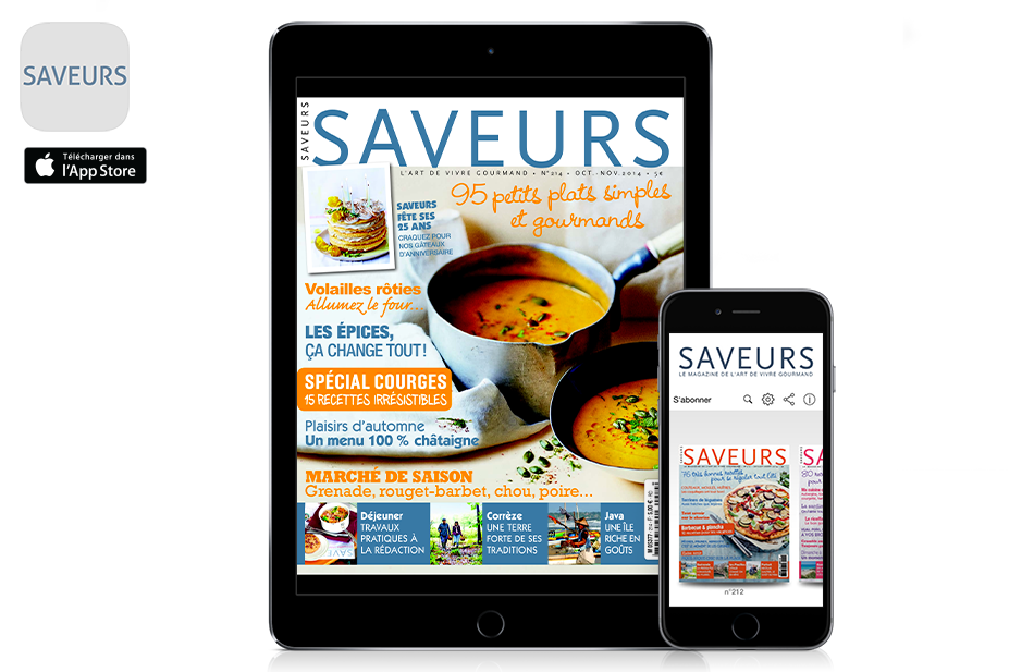 application-kiosque-magazine-saveurs-sur-ipad-iphone