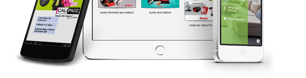 application catalogue interactif flippad digitalisation catalogues interactifs kiosques. Black Bedroom Furniture Sets. Home Design Ideas