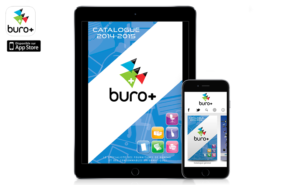 application-kiosque-catalogue-buro-plus-sur-ipad-iphone