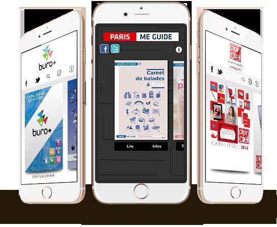 application catalogue interactif sur ipad iphone et android. Black Bedroom Furniture Sets. Home Design Ideas