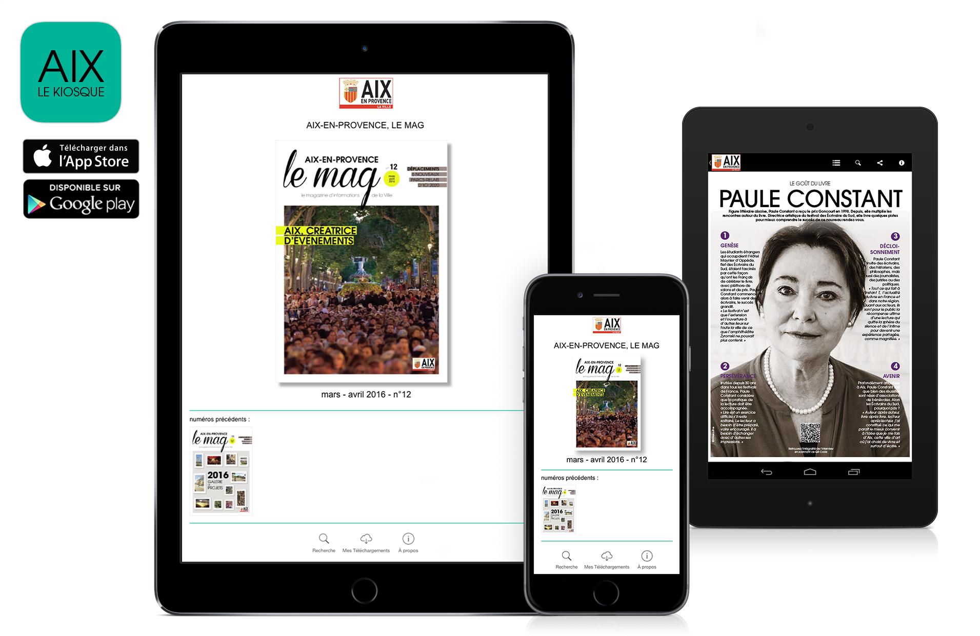appli aix en provence le mag sur ipad iphone et android flippad digitalisation catalogues. Black Bedroom Furniture Sets. Home Design Ideas